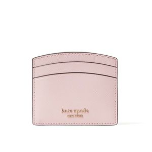 Kate spade ♠️ tutu pink card holder new